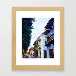 Cartagena Has Stolen My Heart, Mi Corazon Framed Art Print
