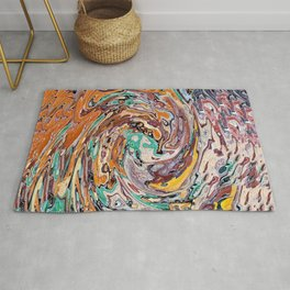 Abstract Painting X 9 Rug