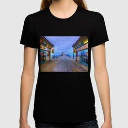 Before Dawn  * Huntington Beach Pier T-shirt