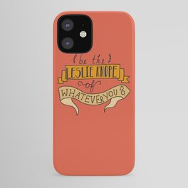 Leslie Knope iPhone Case