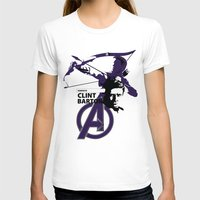 clint barton T-shirts featuring Clint by Mad42Sam