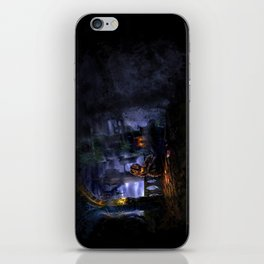 Castlevania: Vampire Variations- Bridge iPhone Skin