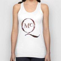 steve mcqueen Tank Tops featuring McQueen by TOM MONFORTI