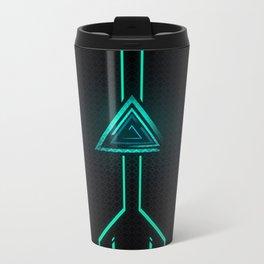 NeoN Green Metal Travel Mug