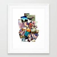 instagram Framed Art Prints featuring Instagram  by Nic Moore
