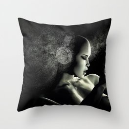 Deep Bass IV Throw Pillow
