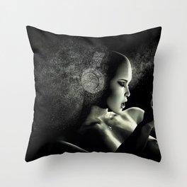 Deep Bass IV Throw Pillow