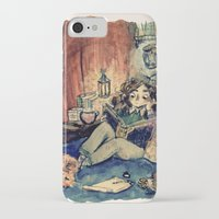hermione iPhone & iPod Cases featuring Hermione by Beastlyworlds