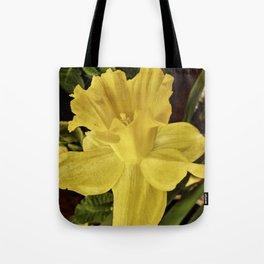 Daffodil at Barthel's Farm Market Tote Bag