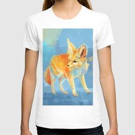 Sound of the Desert - Fennec Fox digital painting T-shirt