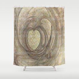 Single Minded Shower Curtain