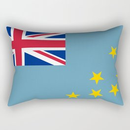 Tuvalu Flag Rectangular Pillow