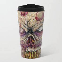 Walking Dead Horror Zombie Art Metal Travel Mug