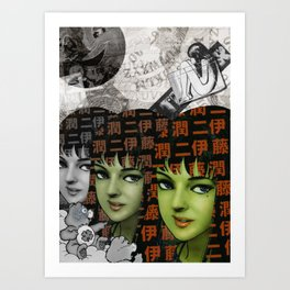 Tomie Art Print