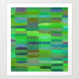 Sea Tones Art Print