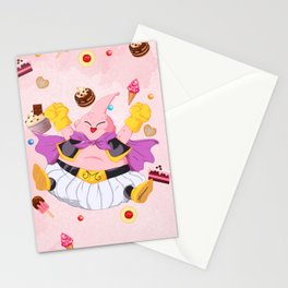Buu loves Food Stationery Cards