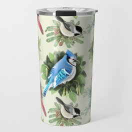 Birds and Branches Travel Mug