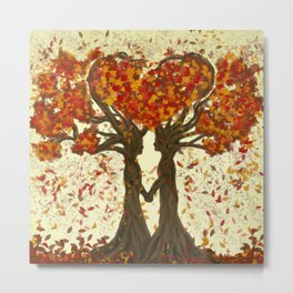 Love Nature Metal Print