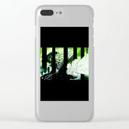 Meet Panik Varient 1 Clear iPhone Case