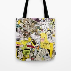 Shredded  Tote Bag