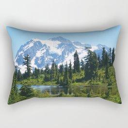 Mt. Shuksan Rectangular Pillow