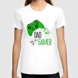 Video Game Green T-shirt