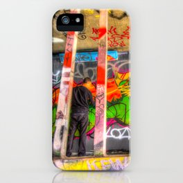 Leake Street Graffiti Artist  iPhone Case