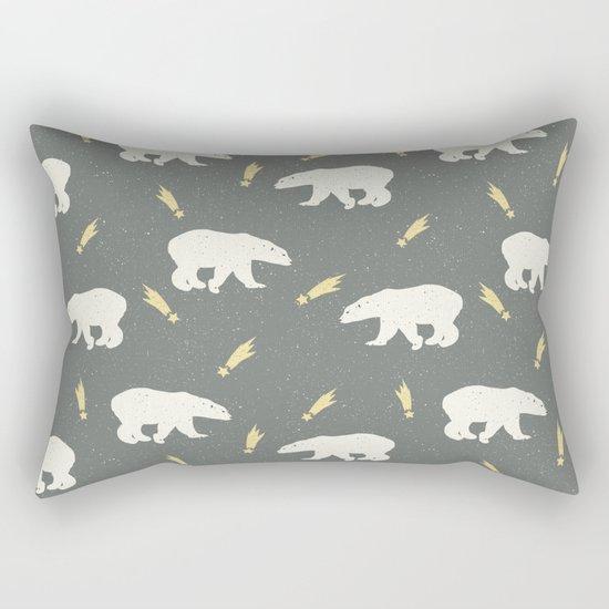 Merry Christmas- Animal Polar bear - pattern Rectangular Pillow