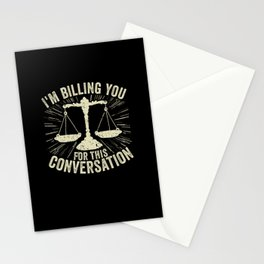 Lawyer Attorney Law School Graduate Gift Stationery Cards