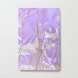 Gladness breathes from the blossoming ground. Metal Print