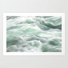 River Green Art Print