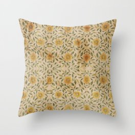Flower for my Love Throw Pillow