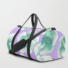 Between Blue and Purple Duffle Bag