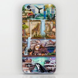 The Amazing Animal Kingdom iPhone Skin