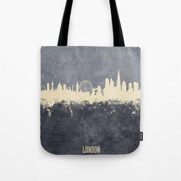 London England Skyline Tote Bag