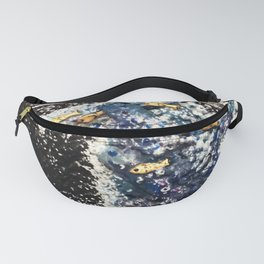 Recycled Starry Wave Fanny Pack