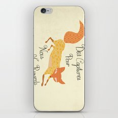 Catch for Us the Foxes iPhone & iPod Skin