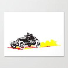Classic Race Car Number 63 Canvas Print