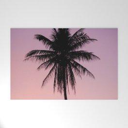 Summer Palms Welcome Mat