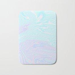 Blue Purple Holographic Bath Mat
