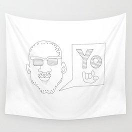 Greetings yo! Wall Tapestry