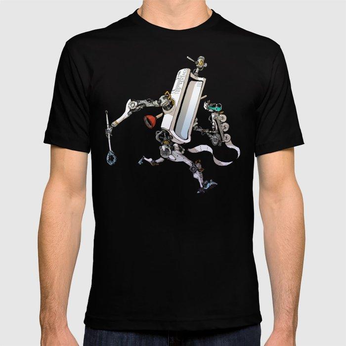 Toiletbots - Duchampion 9000 T-shirt