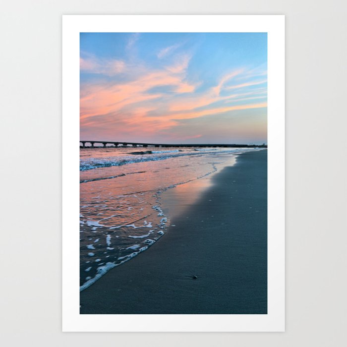 Shore Colors Art Print