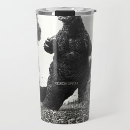 New Orleans Godzilla Attack 1908 Travel Mug