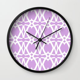Mezzo - Orchid Wall Clock