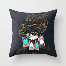 Cabsink16DesignerPatterSTR Throw Pillow