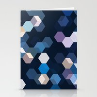 honeycomb Stationery Cards featuring HONEYCOMB by ED design for fun