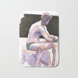 RYAN, Semi-Nude Male by Frank-Joseph Bath Mat