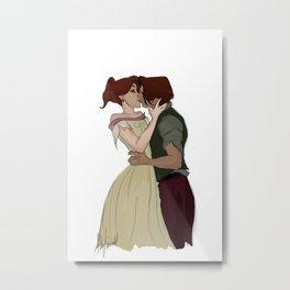 Anastasia & Dimitri 25/4/15 Metal Print
