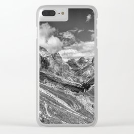 mountains, the Dolomites in South Tyrol Clear iPhone Case